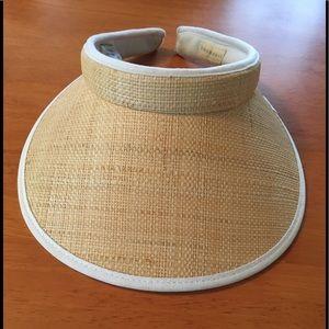 Accessories - Kooringal Raffia Sun Visor hat